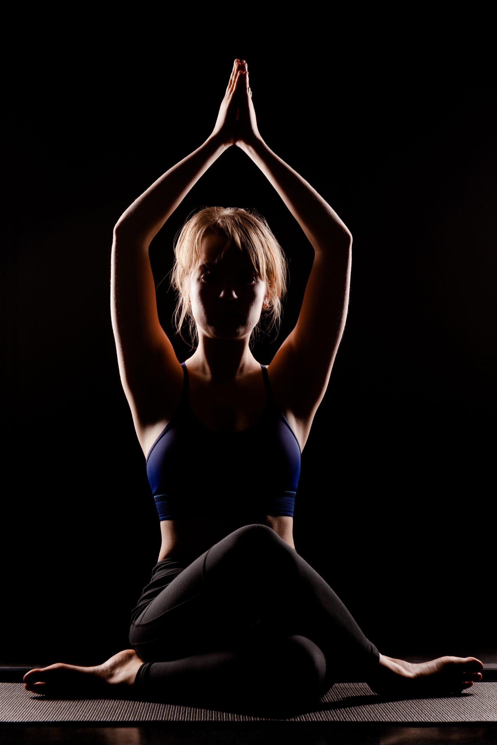 Yogapose Fotografie