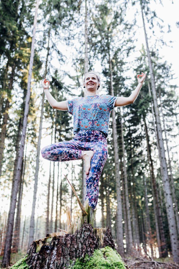 Yoga Natur Fotograf Outdoor Fotoshooting