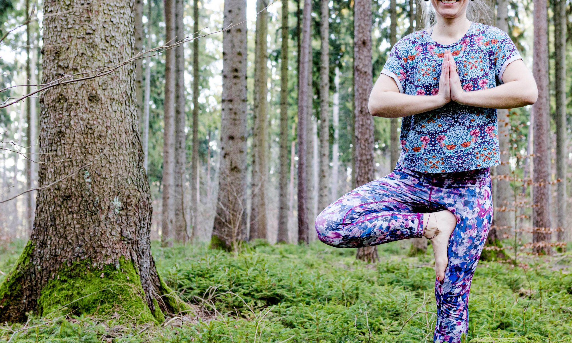 Yoga Natur Fotograf Unternehmen Würzburg
