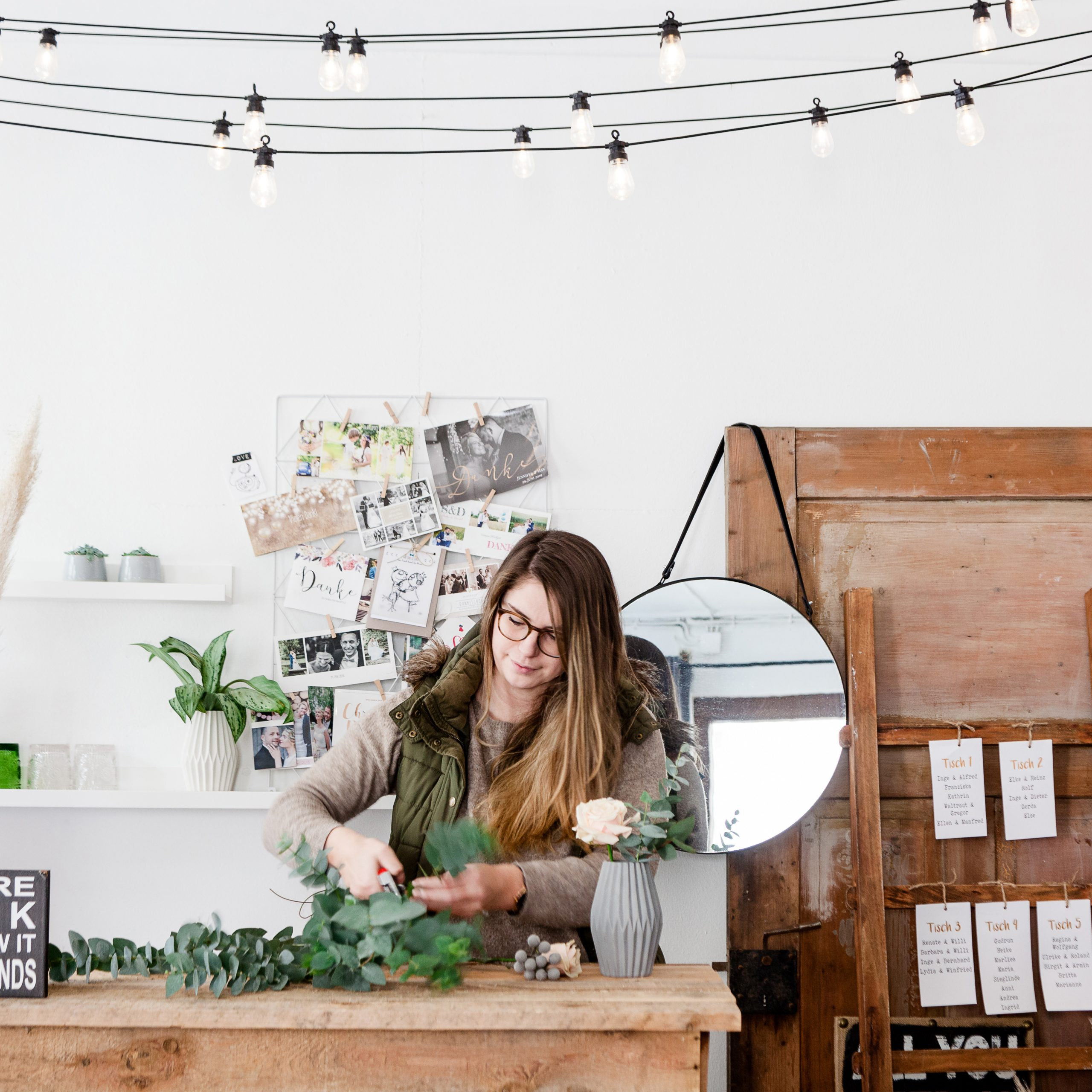 lichterkette dekoration businessfotografie fotograf hochzeitsdekoration