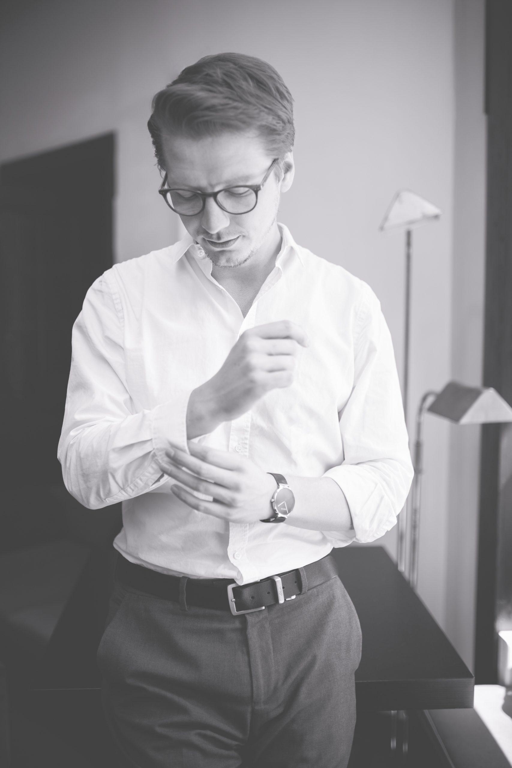 Männerportrait Business Shooting Selbstständigkeit